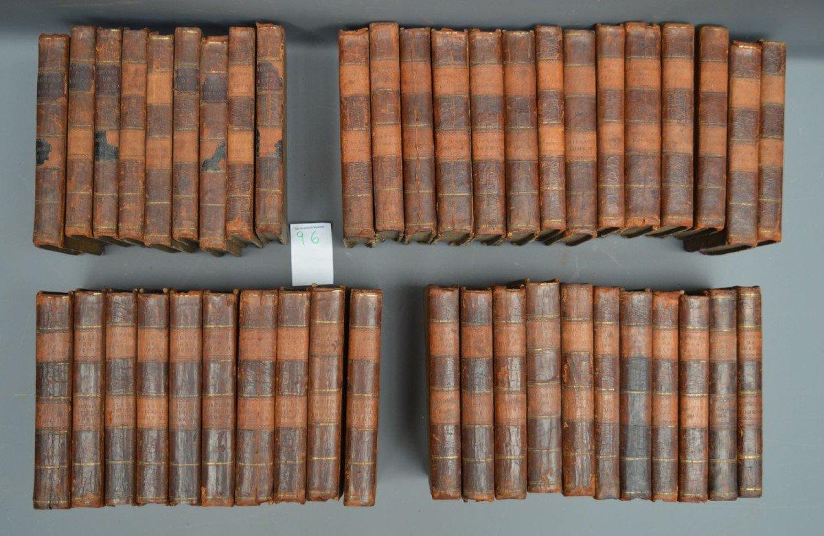 Collection De 44 Livres De Mr De Buffon, Oiseaux, Minéraux, Histoire Naturelle, Etc