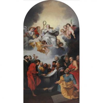The Assumption Of The Virgin 17th