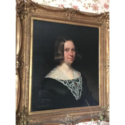 Portrait Of Young Lady (snoeck, Moyson Wife)