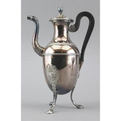 Restoration Silver Coffee Maker