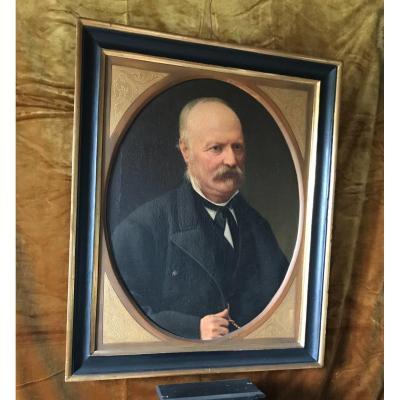 Portrait D'homme Age