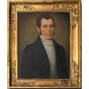 Portrait gentilhomme  Empire Pastel