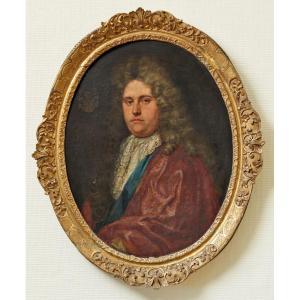 Portrait De Gentilhomme 18ème