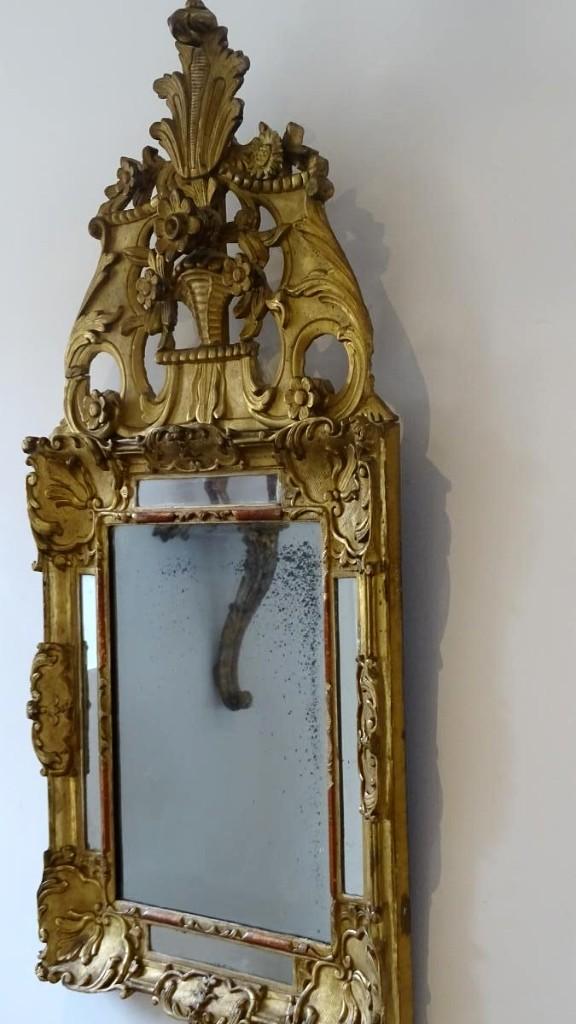 Mirror Fronton Louis XIV