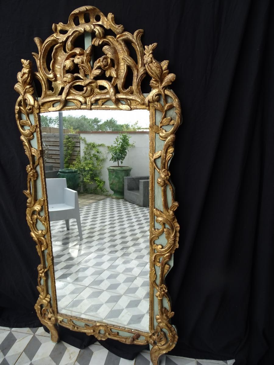 Miroir d époque Régence