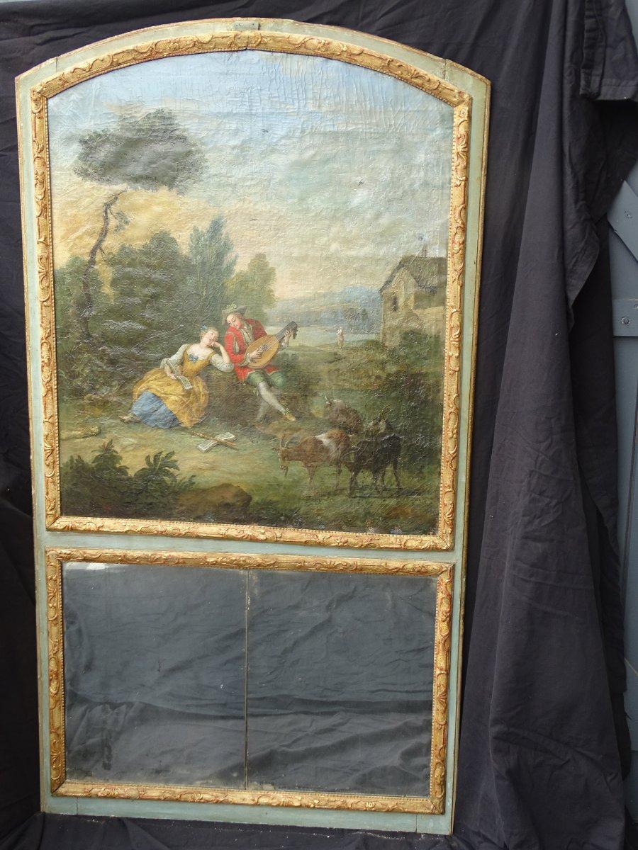 Trumeau Louis XV Period D End XVIII Eme