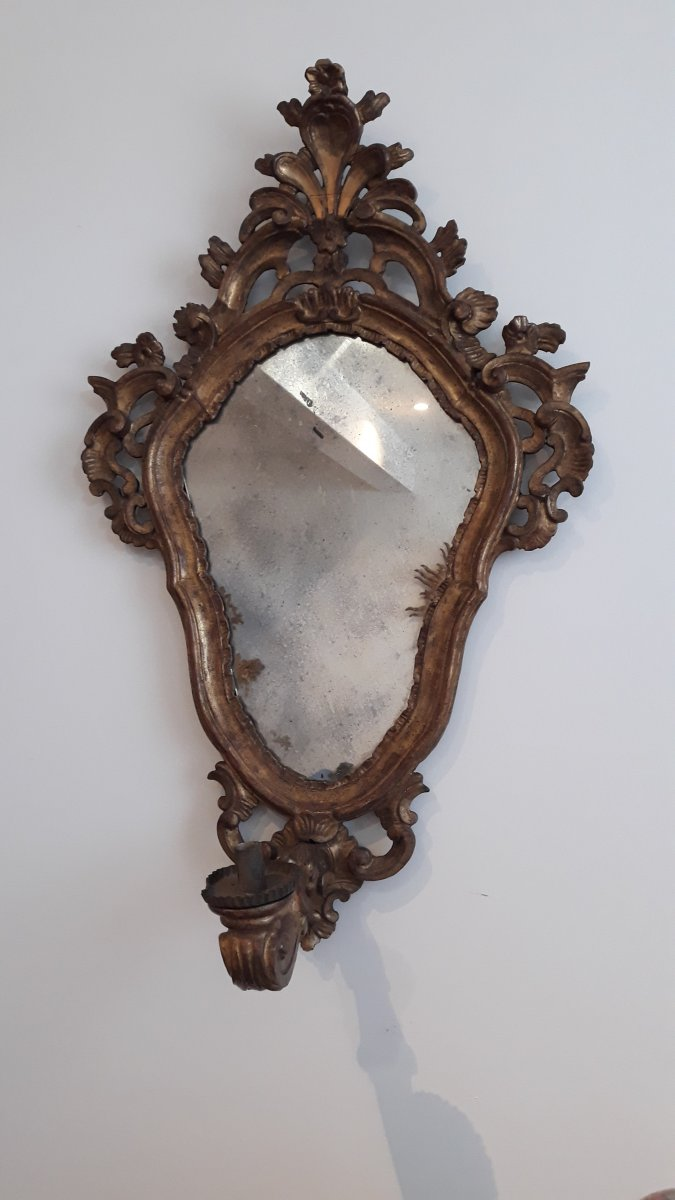 Mirror Candle Holder