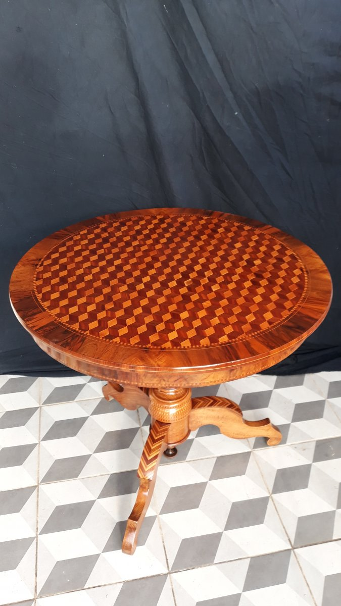XIXth Pedestal Table