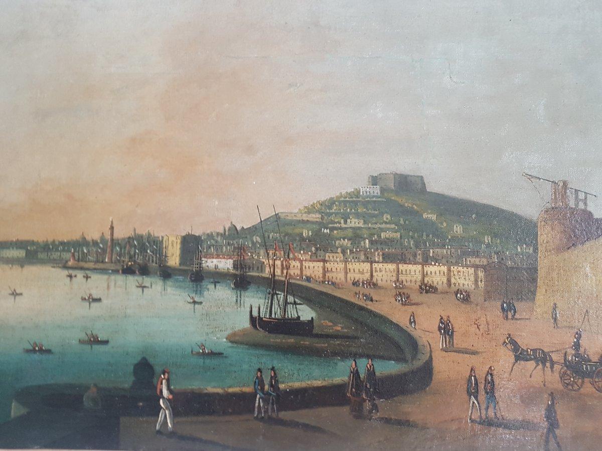Vue De  La Baie De  Naples