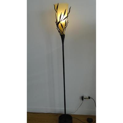 Lamp Year 1950 Forged Metal