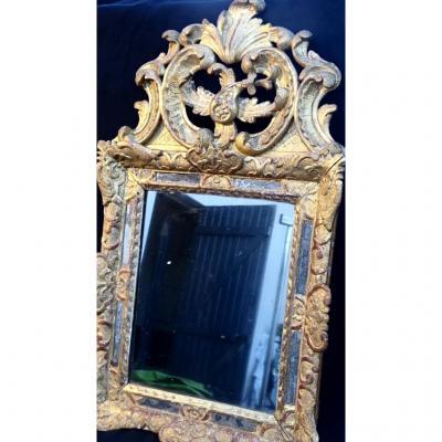 Gilded Wood Mirror Regency Period