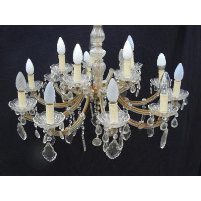 Venice Glass Chandelier