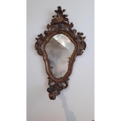 Miroir Porte Bougie