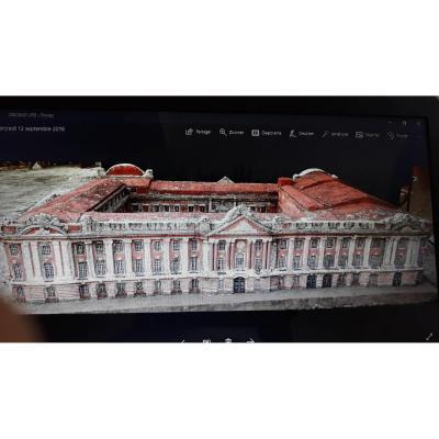 Maquette Du Capitole De Toulouse