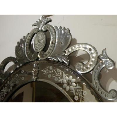 Miroir En Verre De Venise