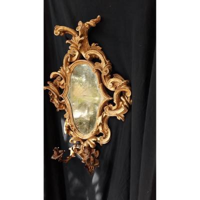 Miroir Italien  d époque XVIII eme