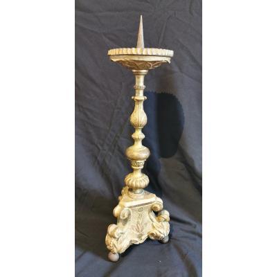 Pique Candle Golden Wood