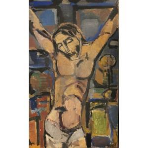 Christ Par Denise CallÉ, Née En 1915 à Dijon, Décédée Au Trait En 1998