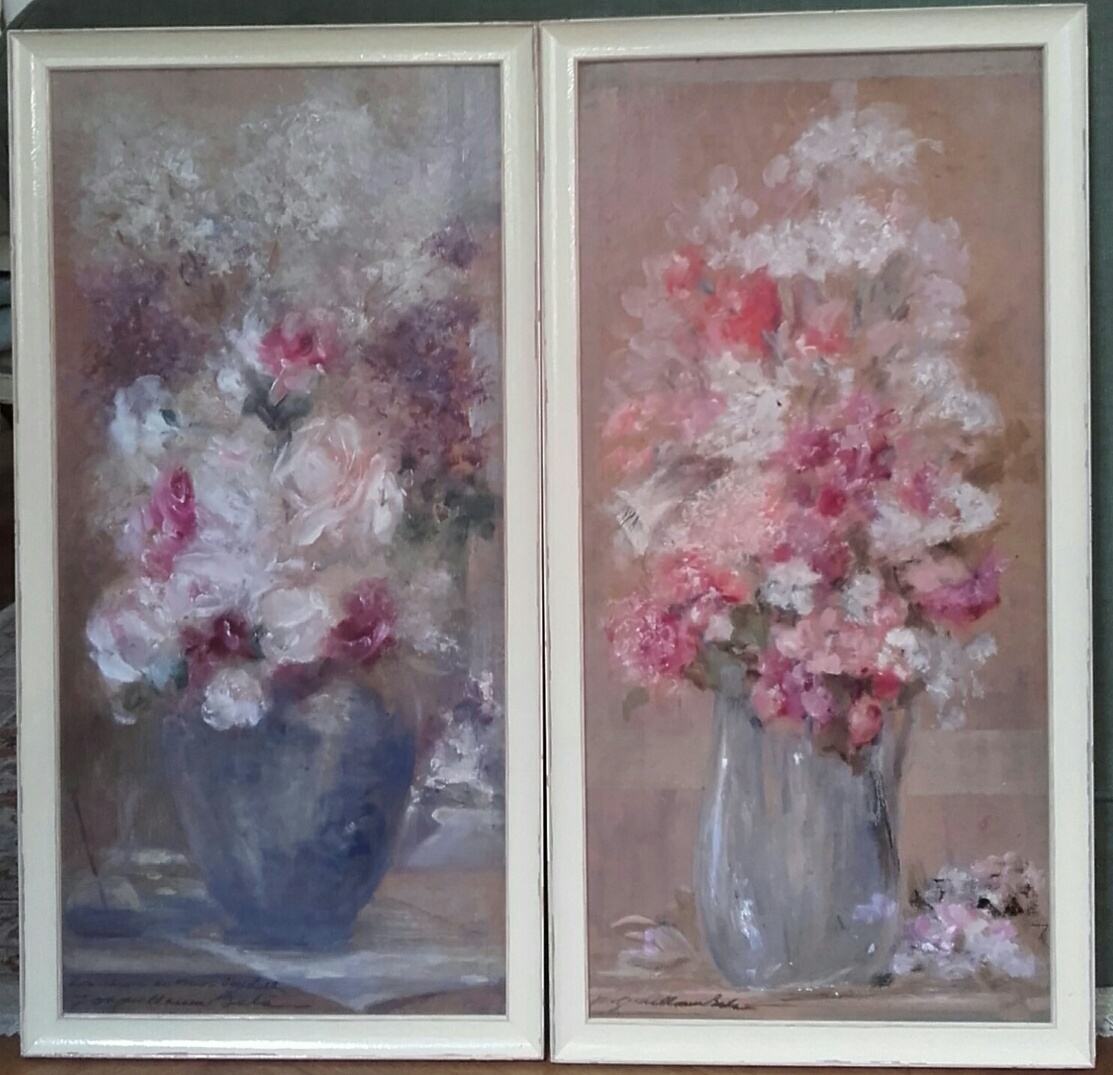 Paire De Peinture : Jos Guillaume Bets