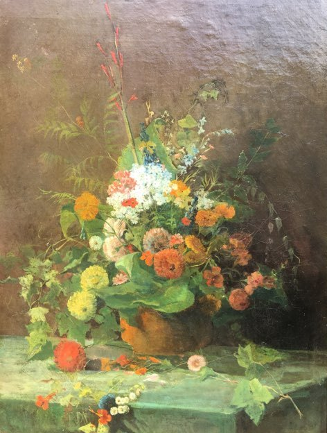 Bouquet Of Flowers, Nineteenth