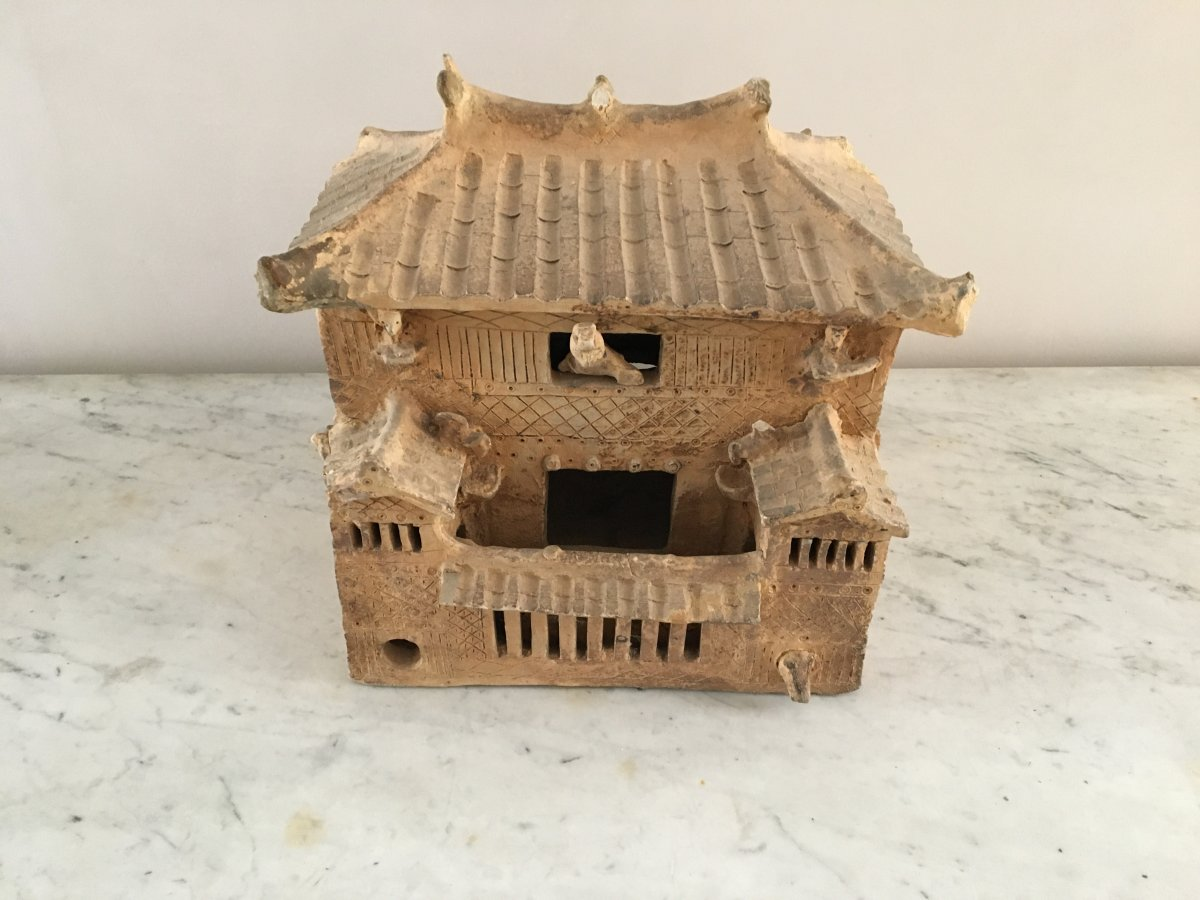 Miniature Terracotta House - Han Period