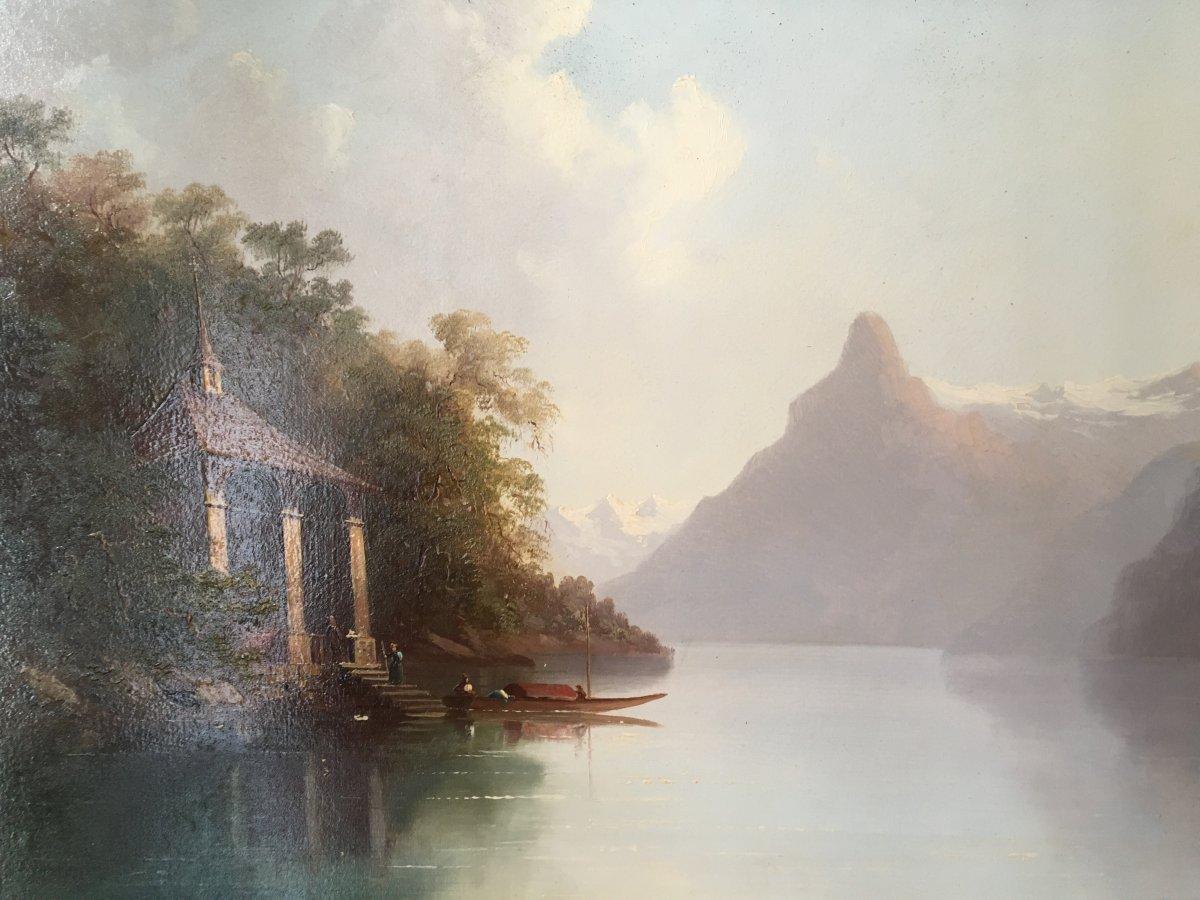 Vue Du  Lac des quatre cantons