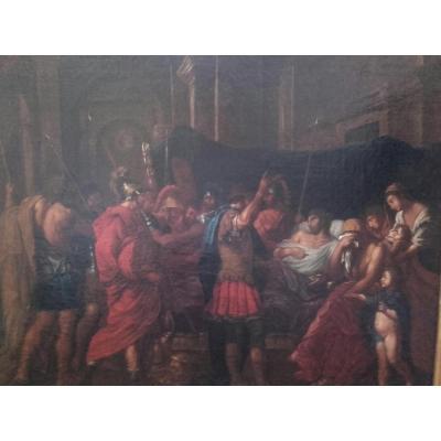 """La mort de Germanicus"" ,XVIIème"