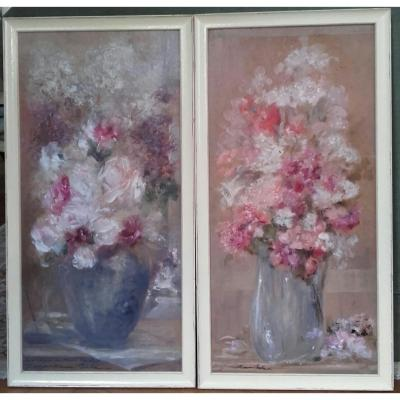 Pair Of Painting: Jos Guillaume Bets