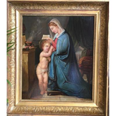 Virgin And Child - Early Nineteenth