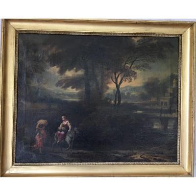 Paysage Animé - XVIIIème