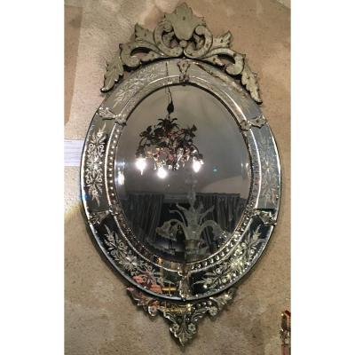 Miroir De Venise  - XXème