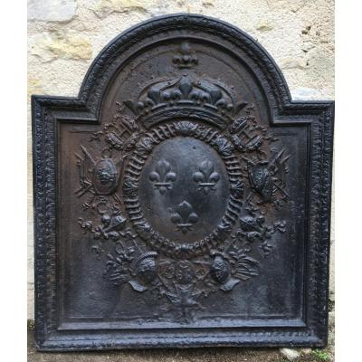 Fireplace Plate, Gendarme Hat -