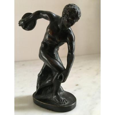 Bronze : Discobole - XIXème