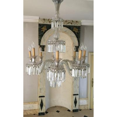 Glass Chandelier From Venice - Late XIXth