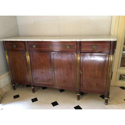 Louis XVI Sideboard In Mahogany