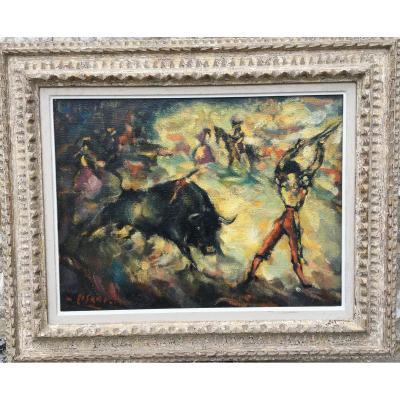 Bullfighting By Eduardo Pisano