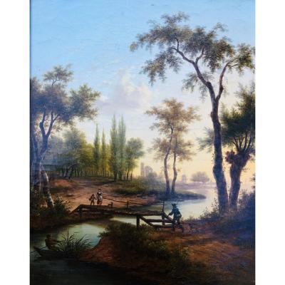 Le Passage De Pont De Bois  - Franz Swagers