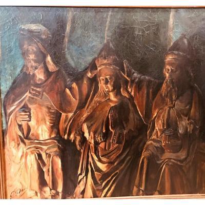 Peinture Religieuse XXème