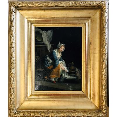 Jeune Blanchisseuse - XIXème