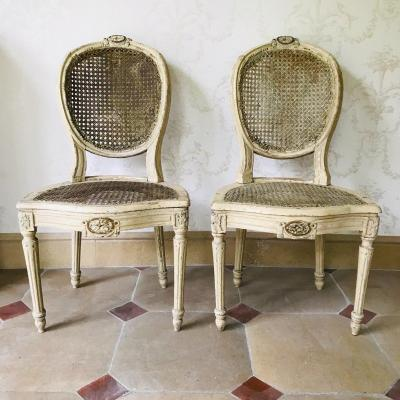 Pair Of Louis XVI Chairs