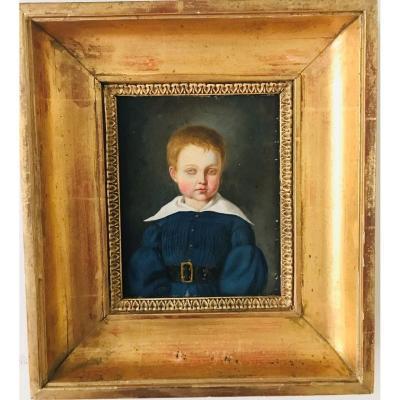 Portrait d'Enfant XIXème