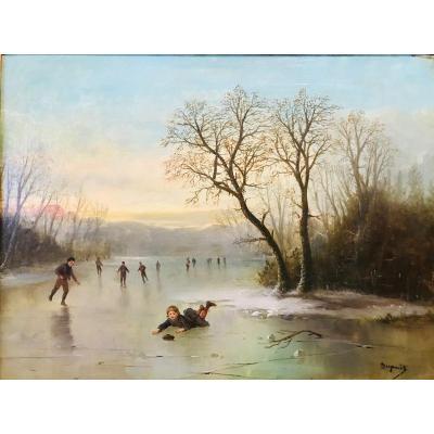 Chute Sur Le Lac  - Maurice Dupuis