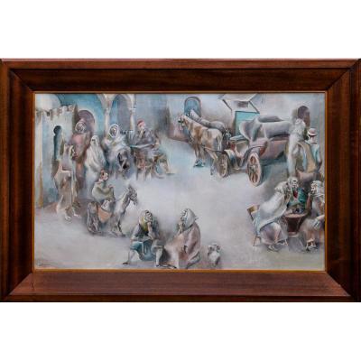 Barber John 1898- 1965 Peintre Usa