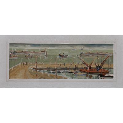 Cazals Louis 1912-1995 Peintre Du Rousillion
