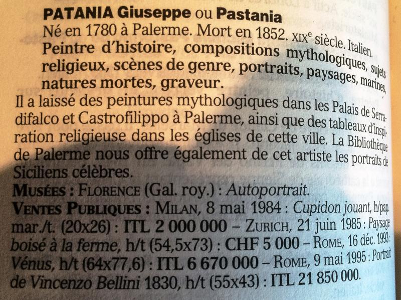 Patania Guiseppé 1780--1852  personnage de théâtre-photo-2