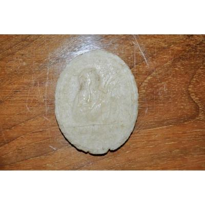 Ancient Papal Seal In Wax Dated From The End Of The 18th Century Religious Object