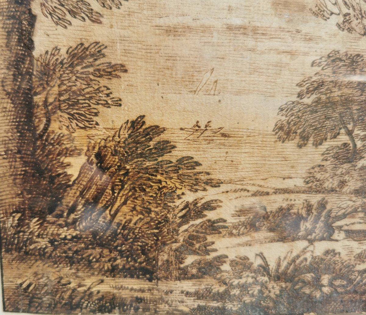 ONOFRIO Crecenzo (1634-1698/1714) Paysage Au Clair De Lune-photo-4