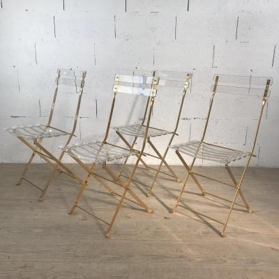 4 Chairs By Yonel Lebovici