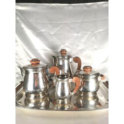 Silver Metal Tea & Coffee Service