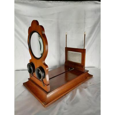 Old Graphoscope Stereoscope Napoleon III Period